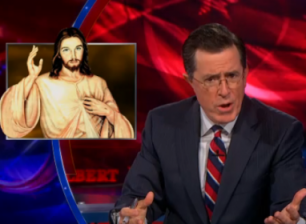 colbert and jesus