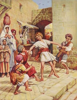 Jesus as a boy