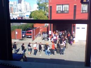 voting line