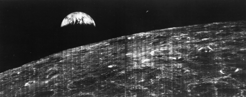 1966 image of earth