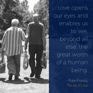 Love opens our eyes