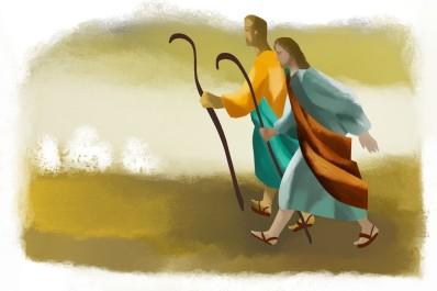 apostles sent in pairs